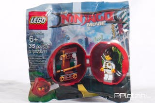Lego polybag The Ninjago movie_Kai's Dojo pod