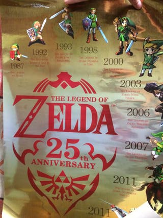 Póster Zelda del 25 aniversario !!