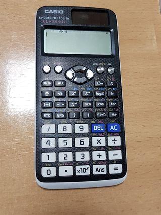 calculadora blanca