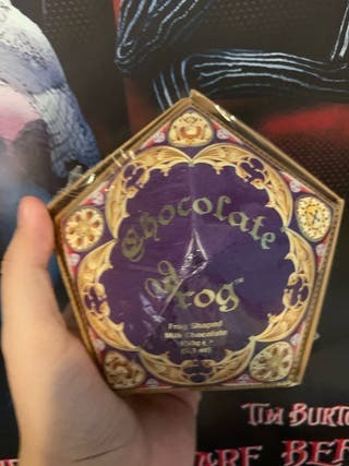 Rana de chocolate harry potter