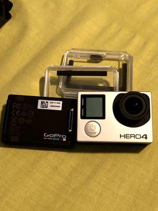 GoPro Hero 4 Black + Backpack