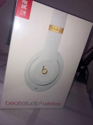 Auriculares cerrados Beats Studio3 Wireless-Blanco