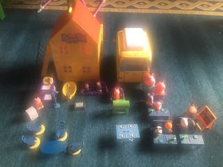 Casa,caravana y escuela de Pepa Pig