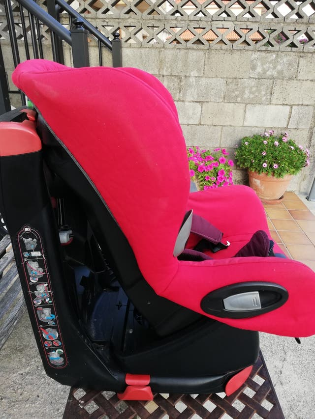 silla coche bebé confort