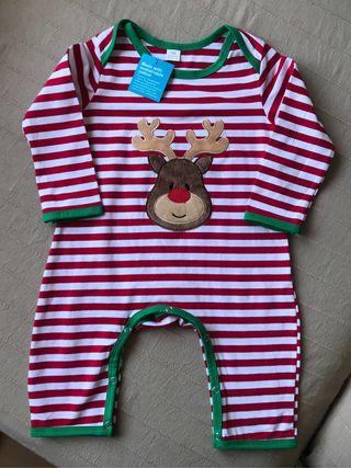 Disfraz bebé para Navidad reno 12-18 meses NUEVO