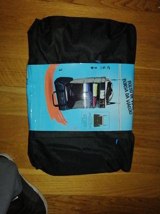 Bolsa de viaje con percha armario desplegable