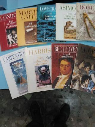9 libros por 3 euros alianza cien