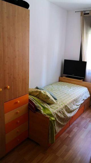 Cuna convertible en cama - Habitación niño