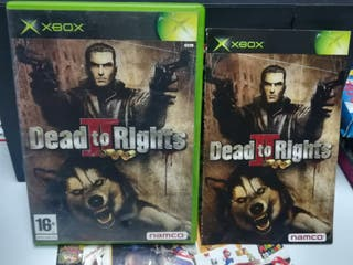 DEAD TO RIGHTS XBOX clasica