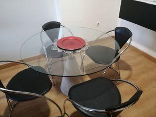 mesa redonda 1,20 cm corte ingles