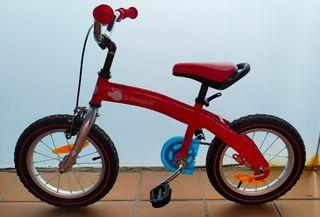 Bicicleta evolutiva IMAGINARIUM de 14 pulgadas