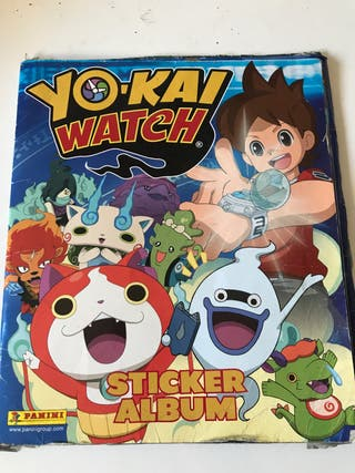 Yo-kai watch Album cromos