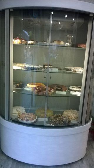 Vitrina de tartas refrigerada