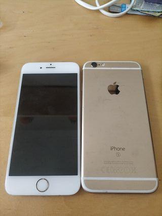 Iphone 6S dorado 64 gb piezas ORIGINALES. COMPLETO
