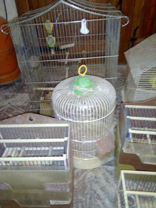 jaulas de canarios y para jilgueros