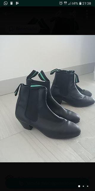 botines zapatos flamenco baile