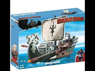 Playmobil 9244 Barco Dragons