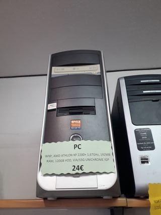 ORDENADOR PC (CARACTERÍSTICAS FOTO)
