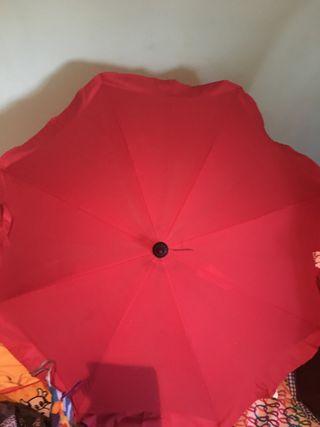 Parasol/sombrilla carrito