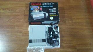 Consola Nintendo Entertainment System NES Seminuev