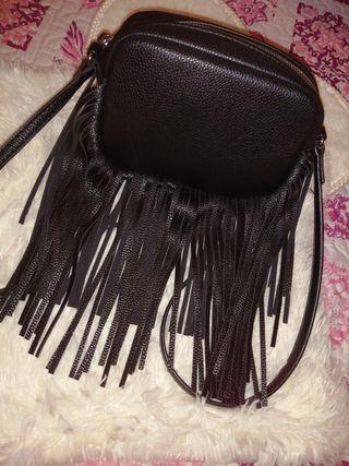 bolso negro bandolera