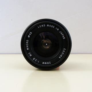 OBJETIVO GRAN ANGULAR 28mm F2.8 MACRO