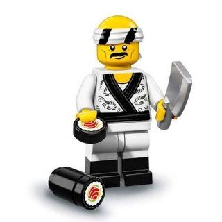 Minifigura Lego serie ninjago vendedor de sushi
