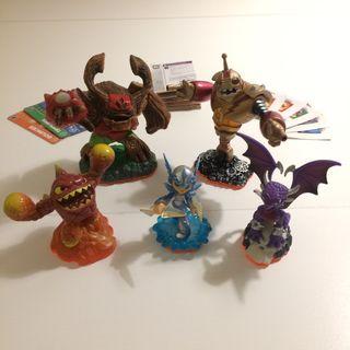 Pack 5 Figuras Skylanders Giants
