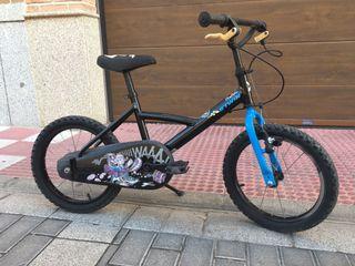 Bicicleta Decathlon de niño