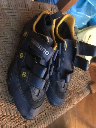 Zapatillas shimano bici montaña