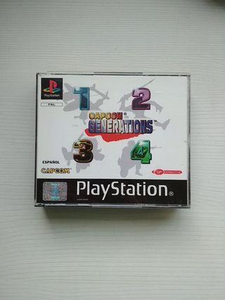 Capcom Generations PS1