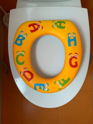 Asiento reductor wc para bebes