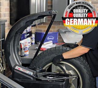 """equilibradora de ruedas taller coches 220v 24"""" CE"""