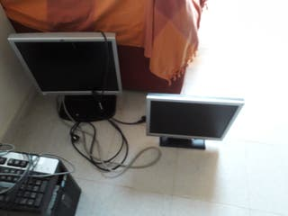 MONITORES BENQ Y HP