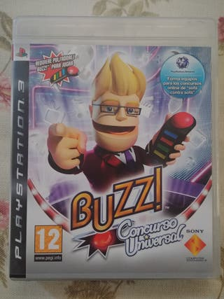 Juego Buzz Concurso Universal PS3
