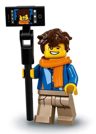 Minifigura Lego serie ninjago Jay Walker