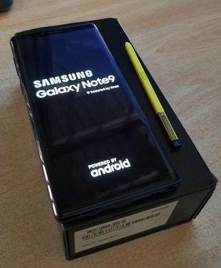 Samsung Note 9 8/512gb azul COMO NUEVO Y GARANTÍA