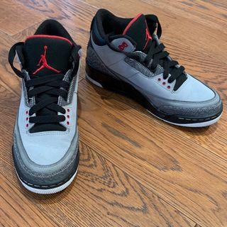 Zapatillas Nike Jordan III Stealth Negro Gris