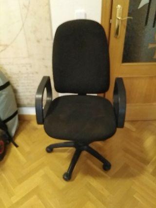 silla ordenador habitación oficina