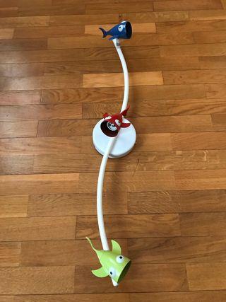 Lámpara infantil de peces