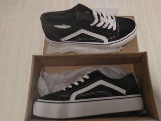 Zapatillas estilo VANS plataforma