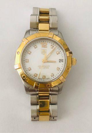 Reloj Tag Heuer mujer acero, oro y diamantes