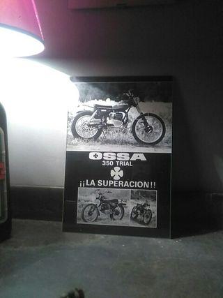 publicidad Ossa Trial 350