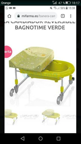 Bañera/cambiador Brevi para bebés