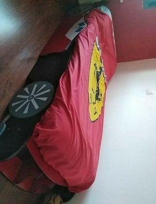 cama Ferrari de niño urge con colchón
