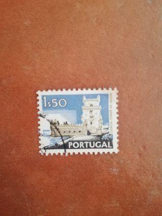 sello Portugal 1,50
