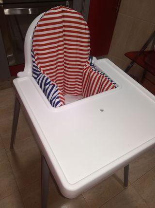 trona Ikea blanca