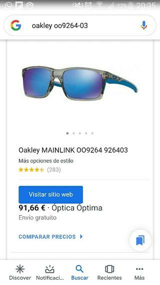 Gafas sol oakley mainlink originales