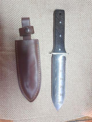 cuchillo jardinero detector metales