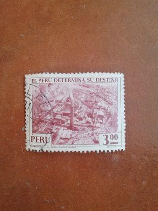 sello Perú 3. 00